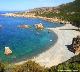 Cartina Sardegna Isola Rossa.Le Spiagge Isola Rossa
